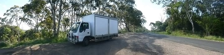 Bunya Mountains Ramesa nursery truck